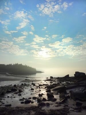Big Pine Beach, Maine