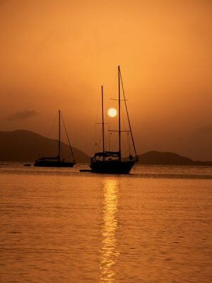 Sailboat, Virgin Islands