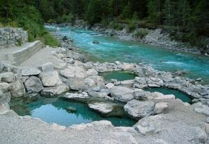 Lussier Hot Springs, British Columbia
