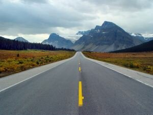 On the Road to Jasper, Canadian Rockies