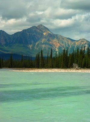 Jasper Lake, British Columbia