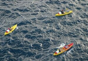 Kayaking Outside the Walls in Dubrovnik, Croatia
