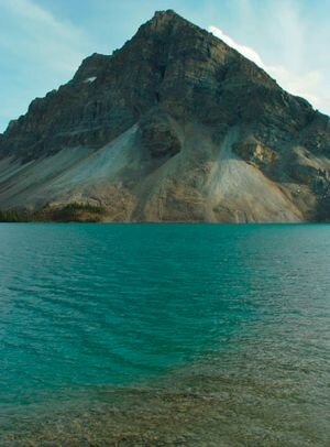 Bow Lake, British Columbia