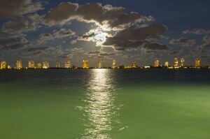 Moonrise Over Singer Island